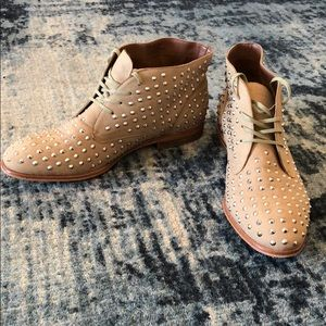 Tan Studded Shoes